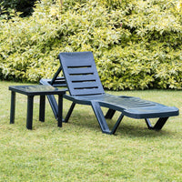 Resol Master Folding Sun Lounger - Green