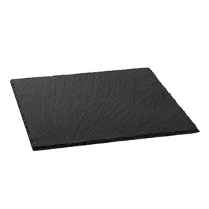 Argon Tableware Slate Square Serving Tray/Platter
