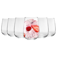 Argon Tableware 6pc Corto Stemless Gin and Tonic Glasses Set - 590ml