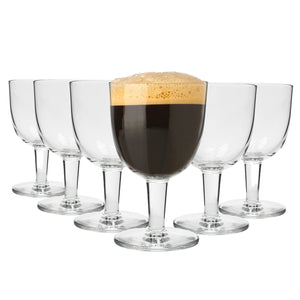 Bormioli Rocco Craft Beer/Ale Abbey Glasses - 418ml - Set of 6