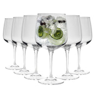 Bormioli Rocco Premium Gin & Tonic Cocktail Glasses - Set of 6