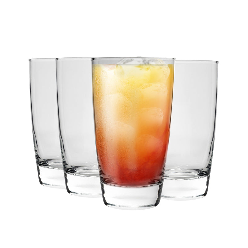 Bormioli Rocco Nadia Highball Cocktail Glasses - 455ml - Pack of 4