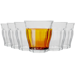 Duralex Picardie Traditional Tumbler Glasses - 160ml - Set of 6