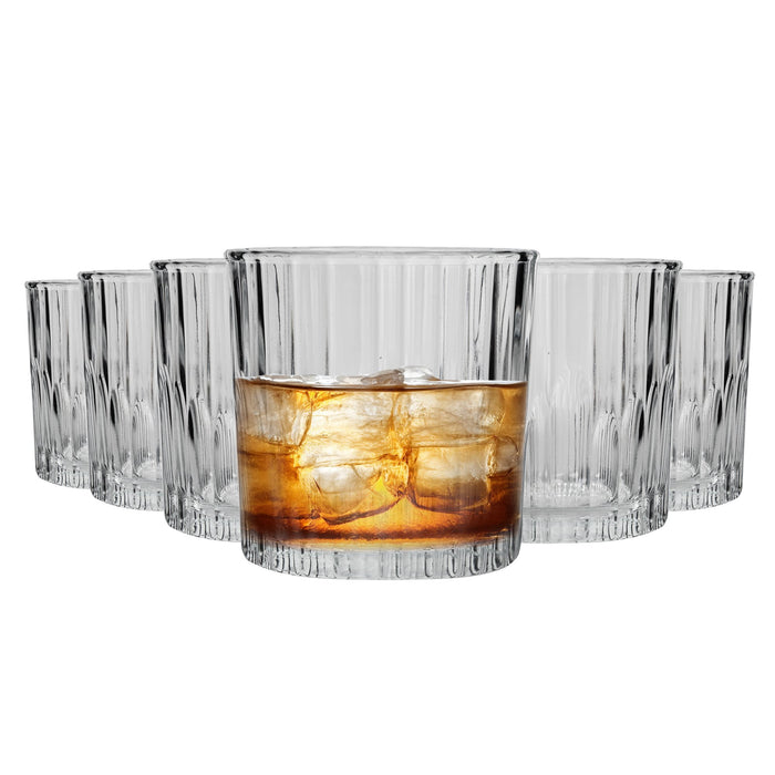 Duralex Manhattan Whisky Glasses - 310ml - Set of 6