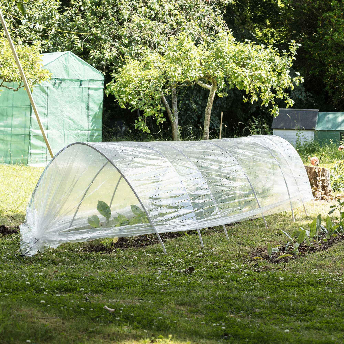 Harbour Housewares Polytunnel Grow Tunnel Greenhouse