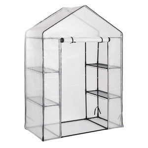 Harbour Housewares 3 Tier Multi Shelf Greenhouse - White