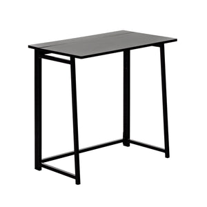 Harbour Housewares Deluxe Wooden Folding Desk - Black