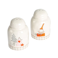 Nicola Spring 2 Piece Christmas Salt and Pepper Shakers Set - Patchwork