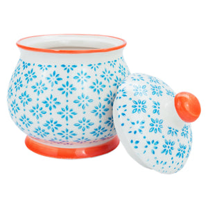 Nicola Spring Sugar Pots with Lids