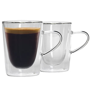Rink Drink Double Walled Hot Drinks Glasses - Set of 2