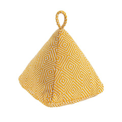 Nicola Spring Decorative Door Stop - Yellow - 20cm