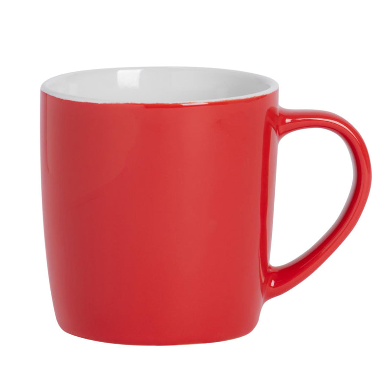 Argon Tableware Coloured Coffee Mugs - 350ml