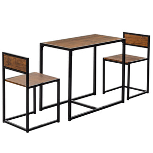 Harbour Housewares Compact Kitchen Table & Chairs Detail