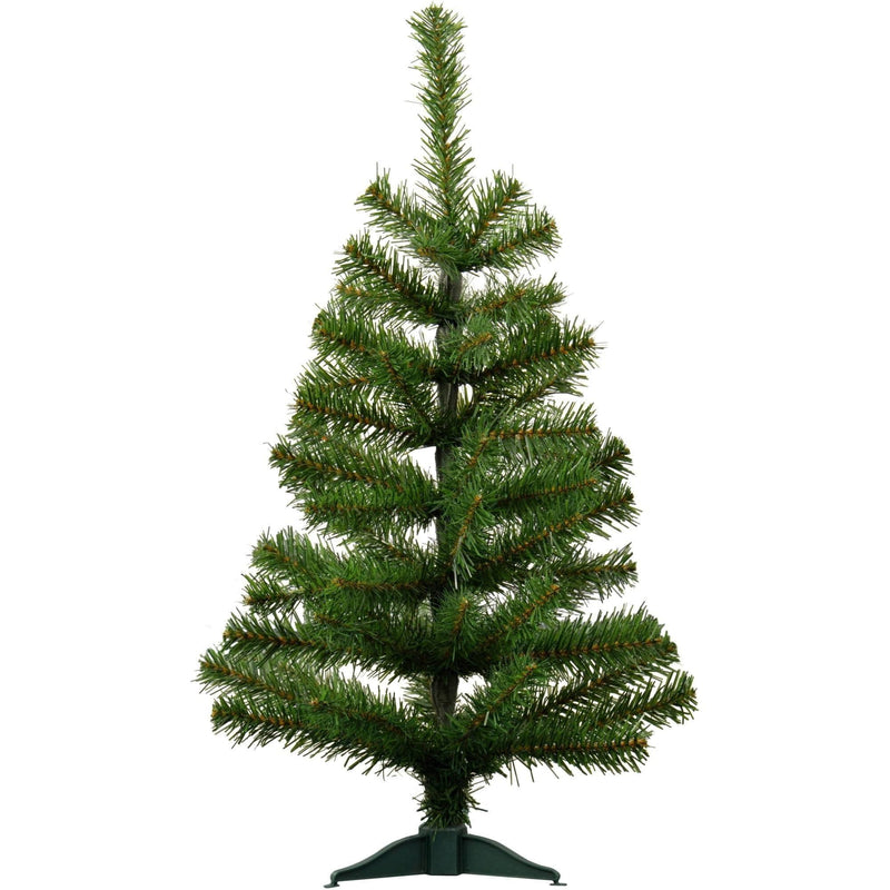 Harbour Housewares 2ft (60cm) Artificial Pine Christmas Tree With Stand Harbour Housewares Christmas Trees
