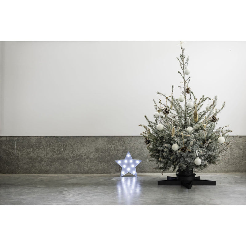 Star Shaped Metal Christmas Tree Stand Harbour Housewares Christmas Tree Stands