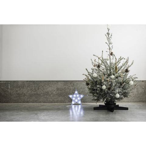 Harbour Housewares Star Shaped Metal Christmas Tree Stand