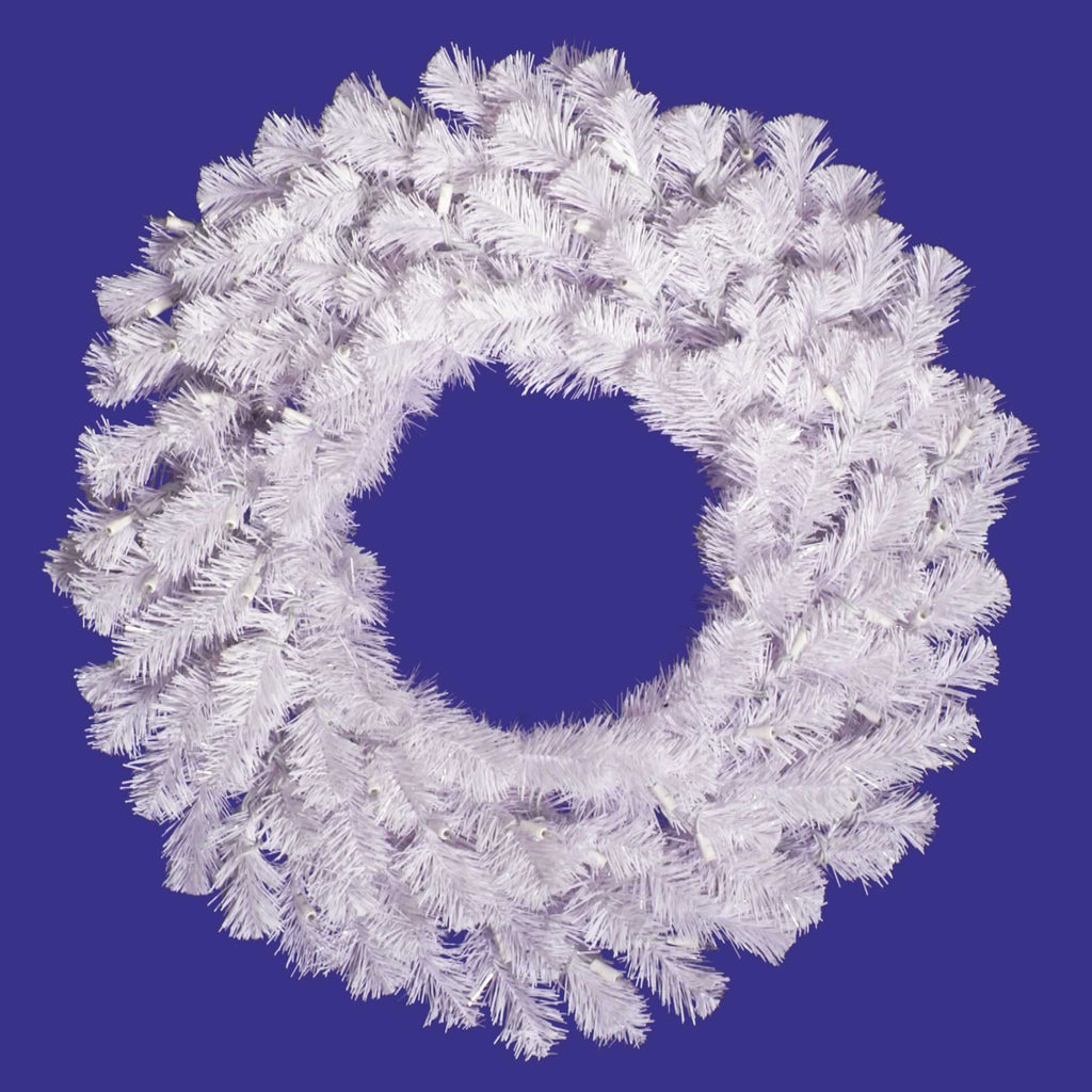 Crystal White Wreath