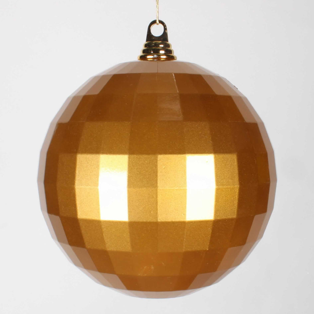"8"" Candy Finish Mirror Ball Ornament"