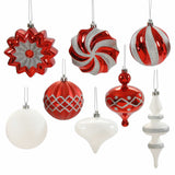"3""-6"" Assorted Ornaments (Set of 18)"