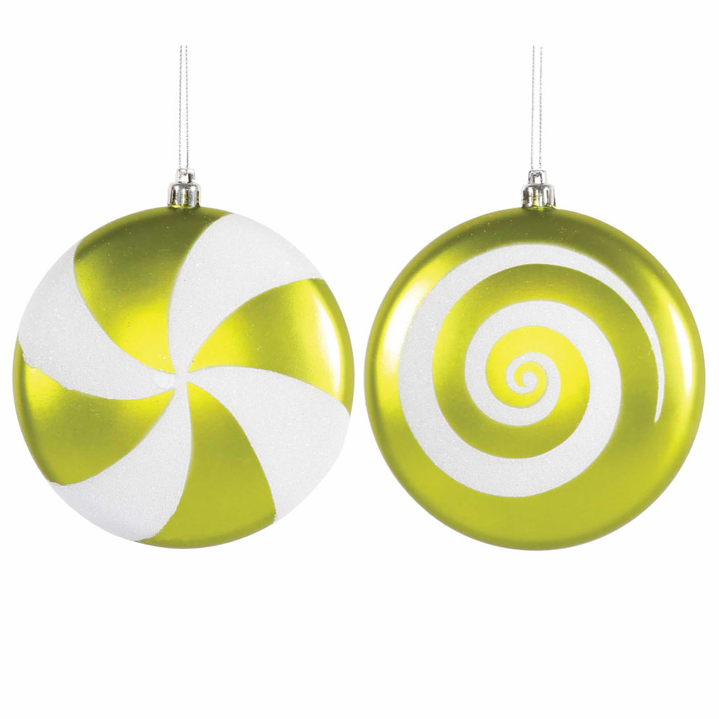 "4.75"" Assorted Candy Ornaments (Set of 4)"