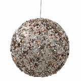 "4.75"" Sequin Finish Sparkle Ball Ornament"