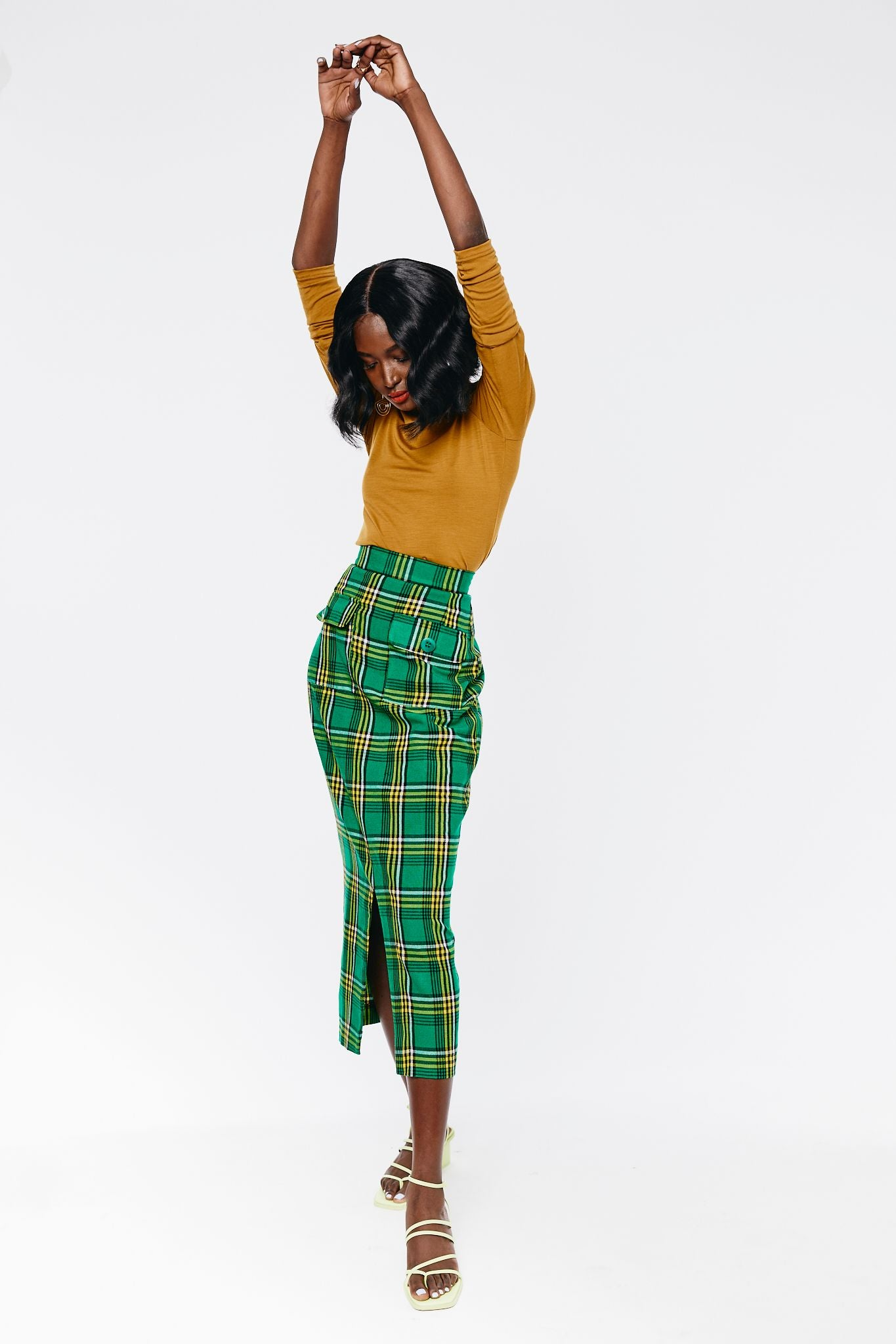 Utambulisho High waisted Skirt