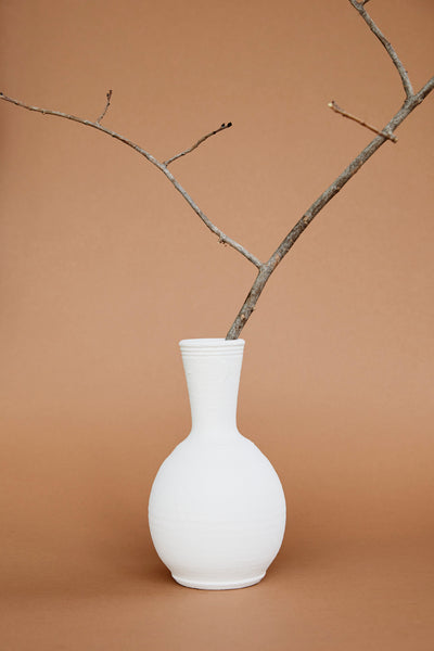 Nyumbani Up-cycled Ceramic Vase