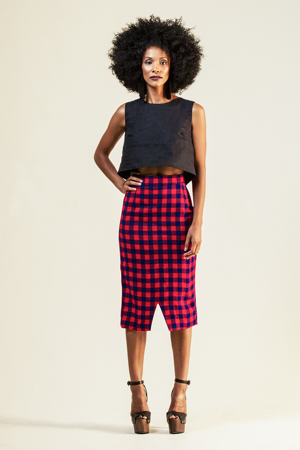 Kalamu pencil skirt