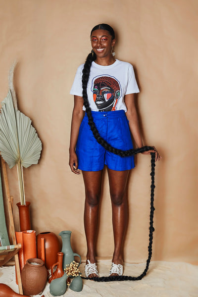 Nguvu High Waisted Shorts