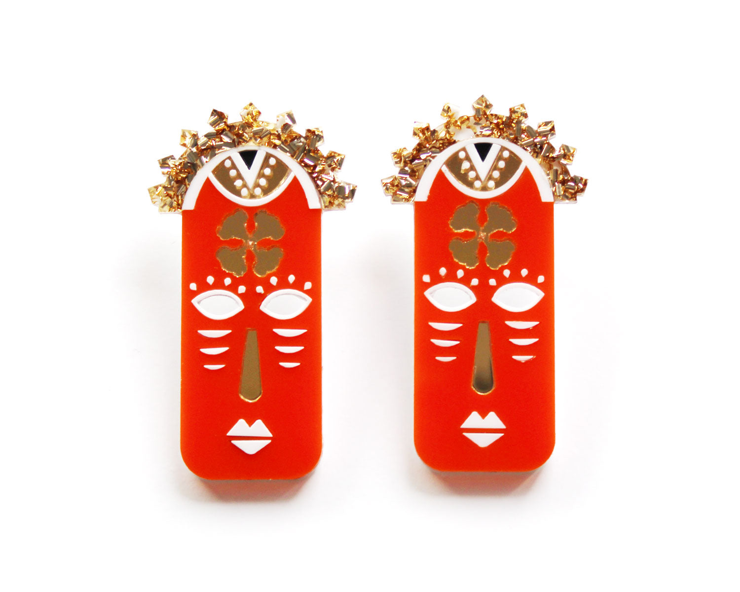 YOSOLA Earrings- Orange