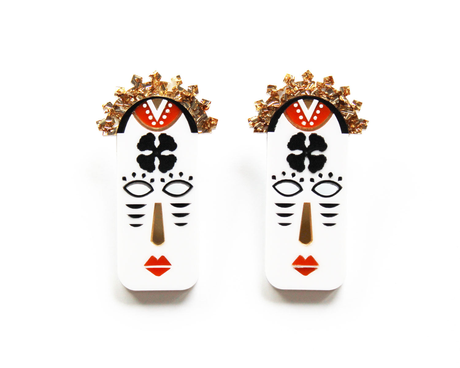 YOSOLA Earrings- White