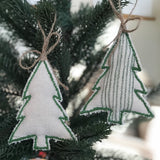 Merry and Bright Christmas Tree Ornaments