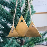 Snowy Mountain Christmas Ornament