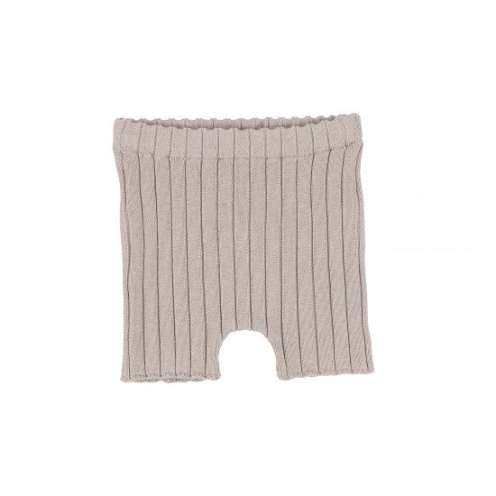Analogie Taupe Knit Shorts