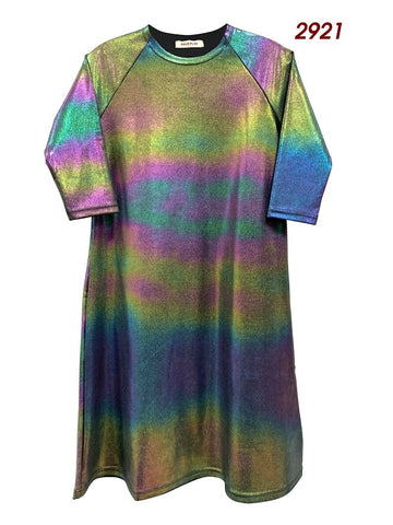 Best Frendz Iridescent Swim Dress