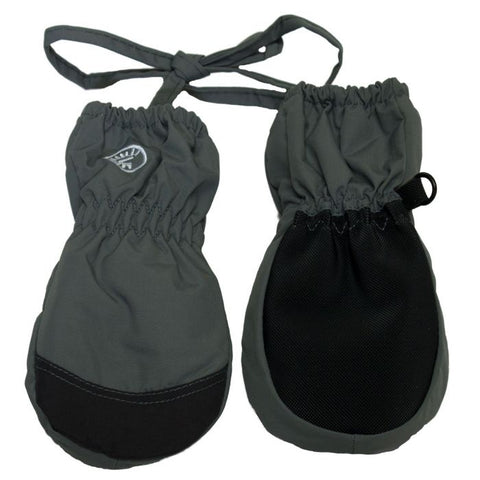 Cali Kids Waterproof Baby Mitt in Charcoal