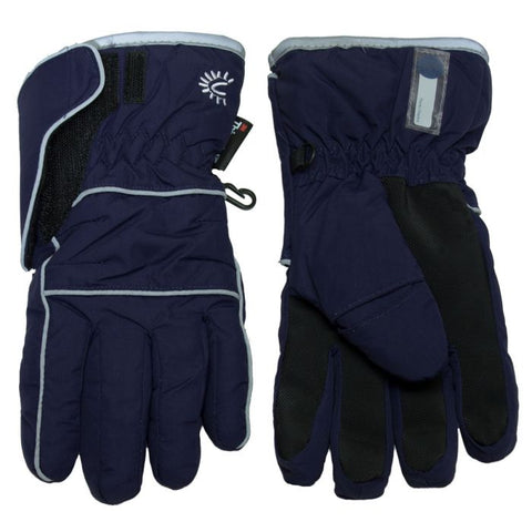 Cali Kids Waterproof Gloves in Navy