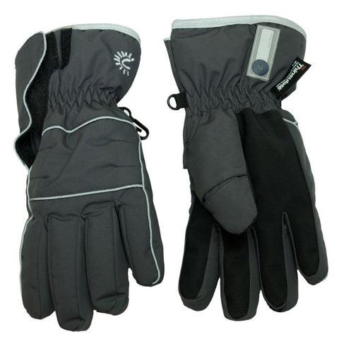 Cali Kids Waterproof Gloves in Charcoal