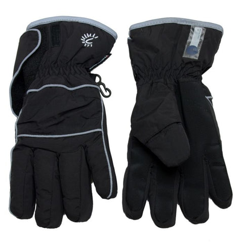 Cali Kids Waterproof Gloves in Black