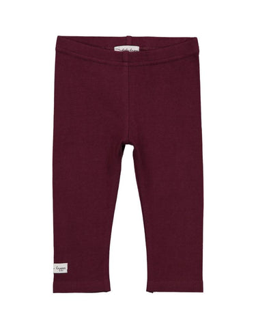Lil Leggs Leggings in Plum