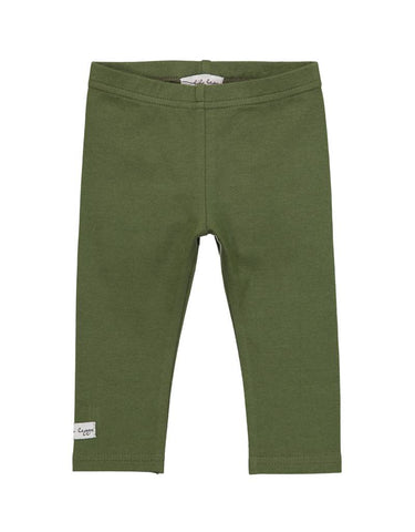 Lil Leggs Leggings in Olive