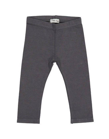 Lil Leggs Leggings in Grey Jean