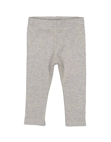 Lil Leggs Light Heather Rib Legging
