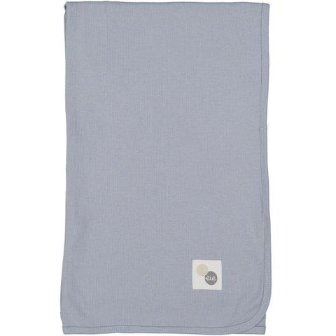 Lil Legs Soft Blue Rib Blanket