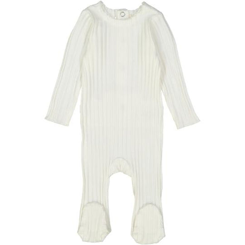 Analogie Winter White Wide Rib Footie