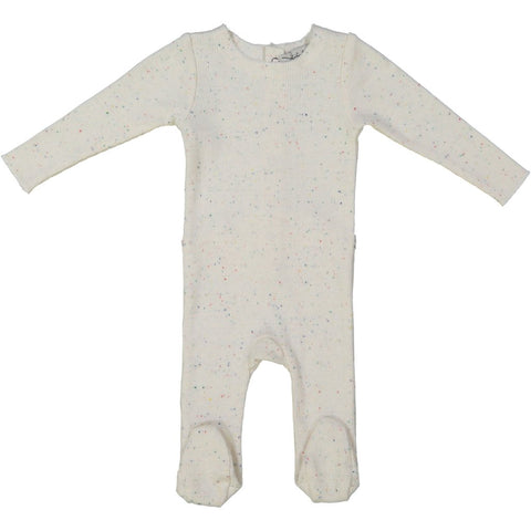 Lil Legs Colourful Speckle Rib Footie