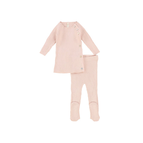 Lilette Soft Pink Knit Set