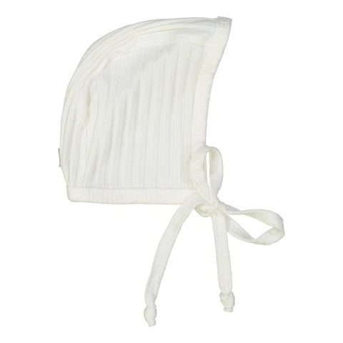 Analogie Winter White Wide Rib Bonnet