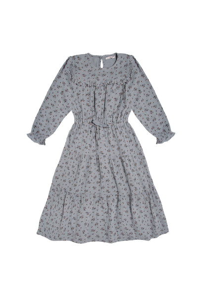 The New Society Sarah Dress in Blue Floral