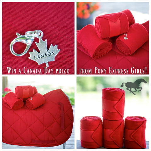 Oh Canada Day Giveaway from The Pony Express Girls